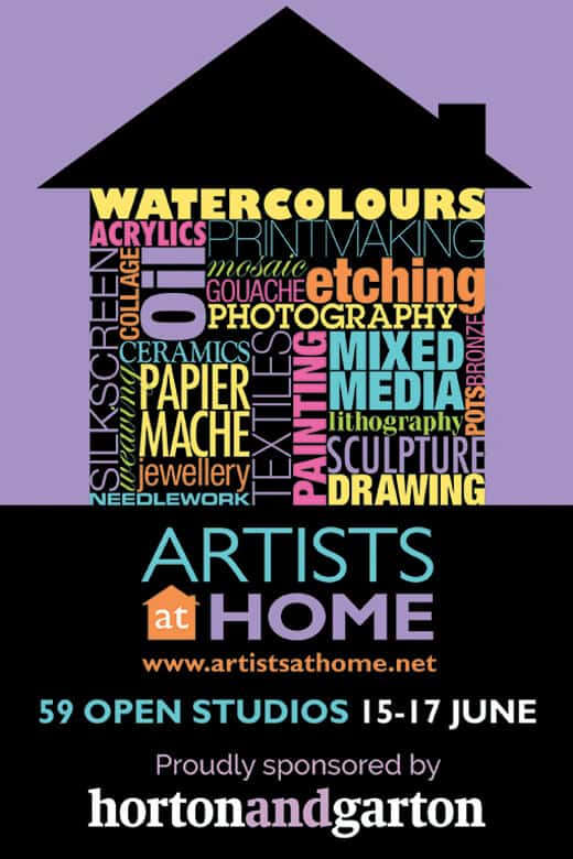 artists at home poster