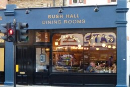 Bush Hall Dining Rooms W12 Horton And Garton London