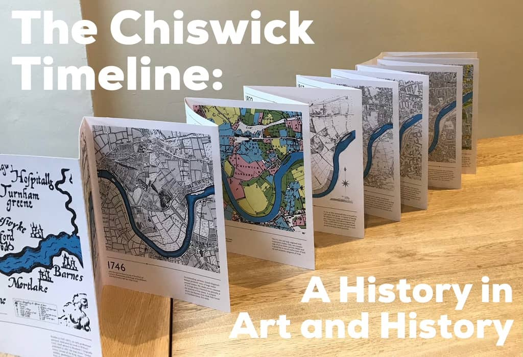 several free copies were sent to all the schools in chiswick along with map sheets for project work and a copy of the art trail showing relevant locations