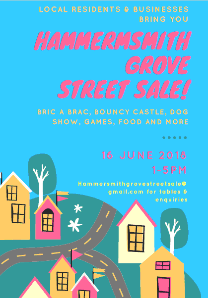 hammersmith grove street sale