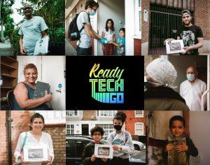Tech laptop donate pupils